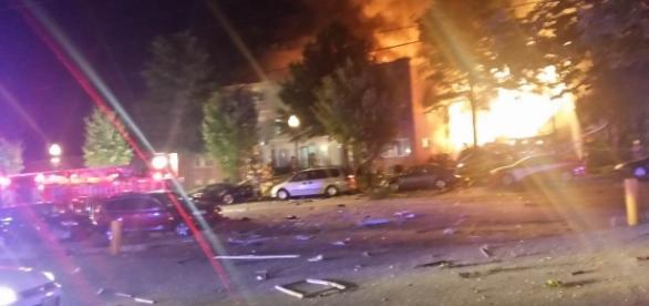 Apartamento explode e deixa mais de 30 feridos em Maryland