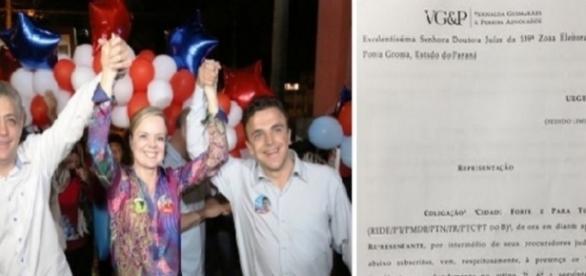 Candidato não quer ser lembrado por ser petista