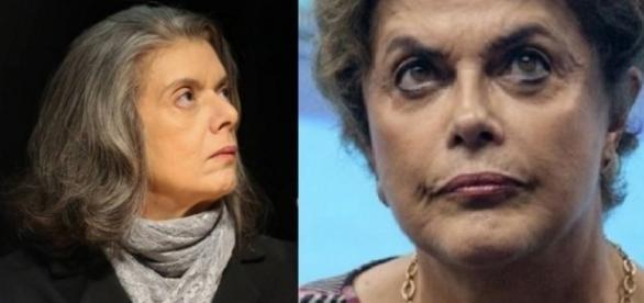 Carmen Lucia e Dilma Rousseff - Foto/Montagem
