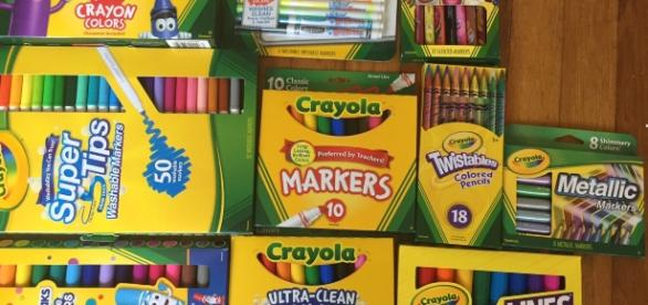Crayola is well known for their child-focused art supplies such as crayons, markers, chalk and paint. / Photo via Meagan J. Meehan, Blasting News.