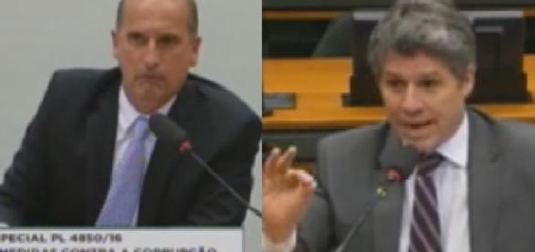 Deputado humilha colega em Comissão da Corrupção