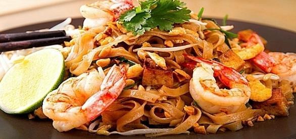 Disfrutar de la comida tailandesa en casa con este plato rápido y sencillo, dulce y picante... Pinterest