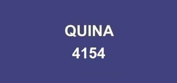 Divulgado pela CAIXA o resultado da Quina 4154