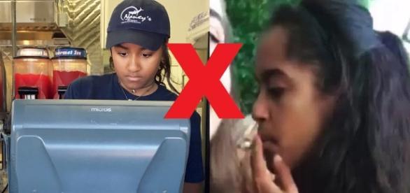 Filha de Obama fuma cigarrinho do 'capeta'
