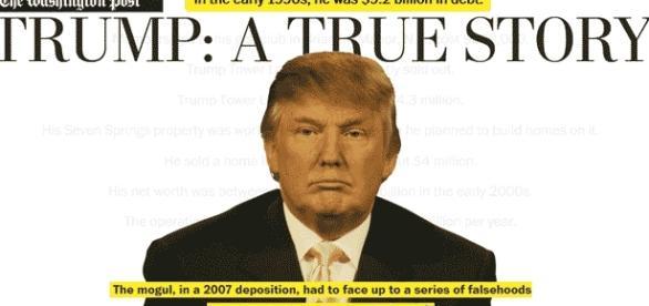 Le Washington Post recense tous les mensonge et toutes les approximations de Trump. Édifiant.