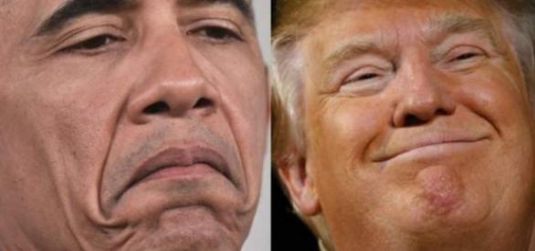 Obama e Trump - Foto/Reprodução