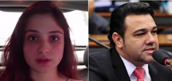 Patrícia Lélis é investigada (Foto: Reprodução/Youtube e Câmara dos Deputados)