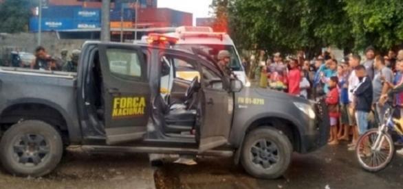 Todos os militares foram feridos em ataque na Vila do João