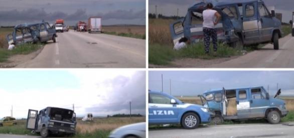 Un româna a murit și alți 9 au fost răniți într-un accident în Italia