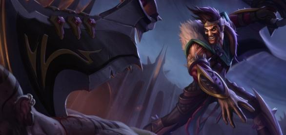 Draven, campeón del League of Legends