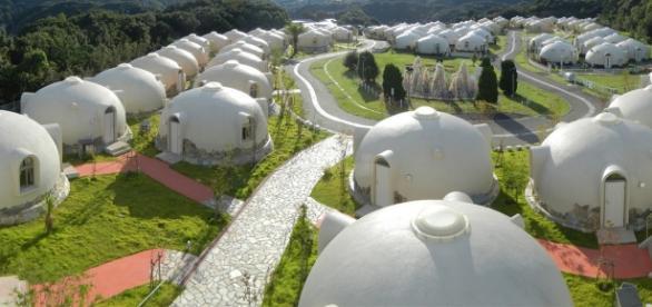 Imagen del lugar increible en Japon