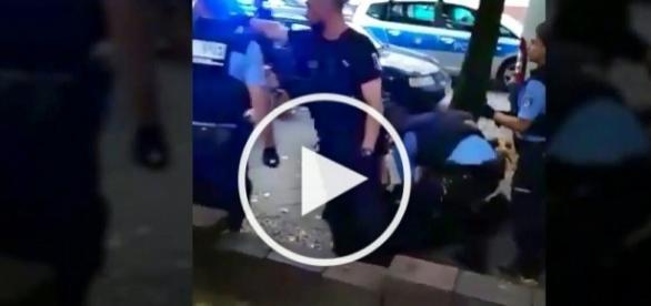 Interwencia policji w Berlinie
