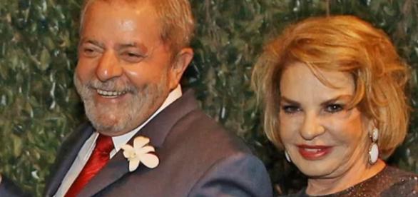 Lula e Marisa Letícia - Foto/Divulgação