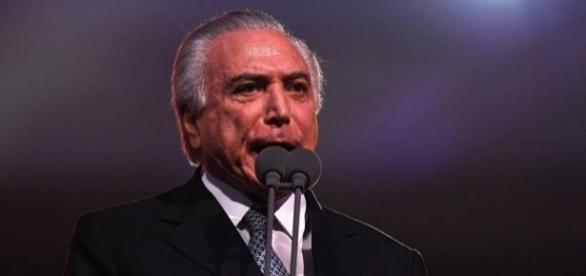 Michel Temer na abertura da Rio 2016 (Foto: Pascal Le Segretain/Getty Images)
