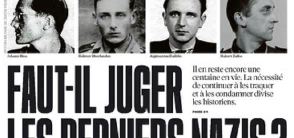 Portada de 'Libération', preguntándose si hay que juzgar a los nazis que quedan vivos.