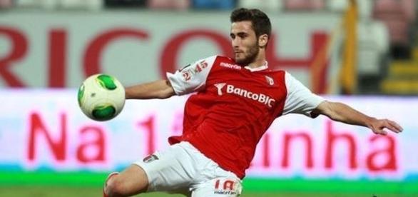 Rafa, avançado internacional português do SC Braga
