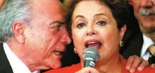 Temer e Dilma | Foto da Internet