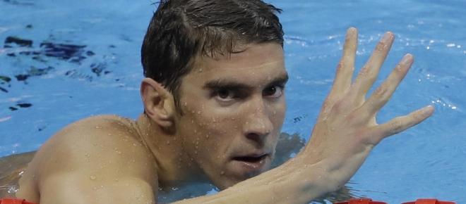 Michael Phelps agiganta su leyenda