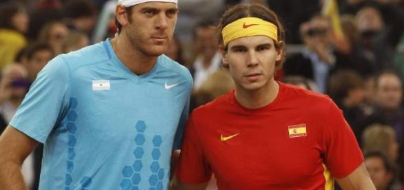ambos tenistas se enfrentaron en doce ocasiones