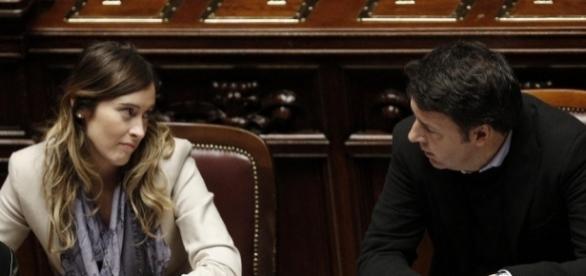 Maria Elena Boschi e Matteo Renzi, la relazione che puntella il ... - italia.co