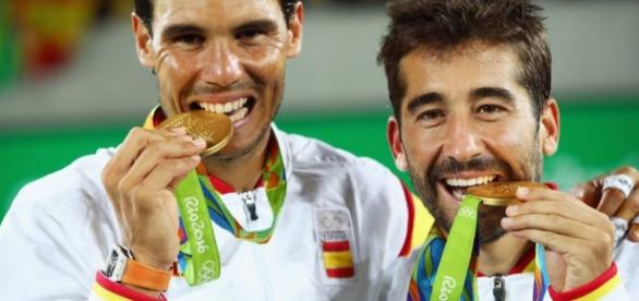 medalla de oro para Rafa Nadal y Marc López