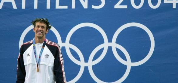 Phelps en sus primeros Juegos Olímpicos