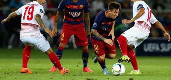 Sevilla x Barcelona: ao vivo na TV e na internet