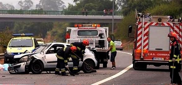 Acidente condicionou a circulação na A1 durante cerca de três horas