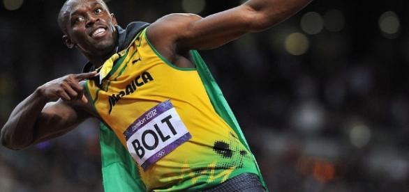 Bolt disputa semifinal e final dos 100m