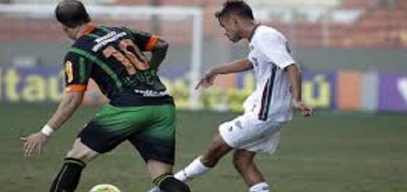 Fluminense e América-MG se enfrentam em Cariacica pelo Brasileirão (Foto: ESPN)