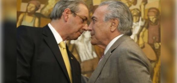 Michel Temer vem sofredo pressão de Eduardo Cunha