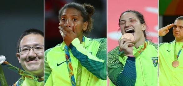 4 medalhas foram ganhas por militares (Foto: Reuters)