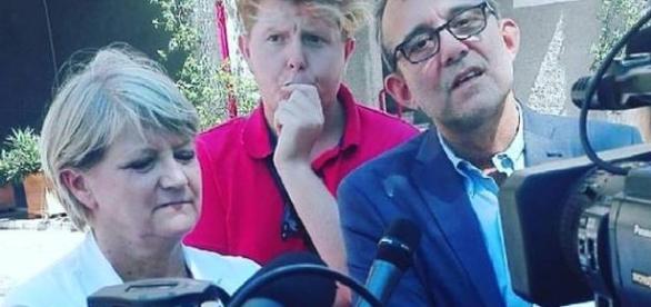Amnistia e indulto, Giachetti e Bernardini a Rebibbia, foto e post su Facebook e Twitter