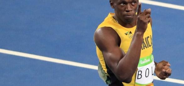 Bolt fica insatisfeito com resultado nos Jogos Olímpicos.