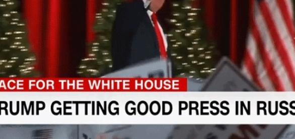 CNN relève que la presse russe accorde une large couverture à Trump