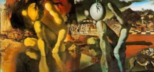 "Dali's ""Metamorphosis of Narcissus"" Tate Museum Creative Commons"