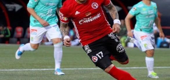 Gol de Dayro Moreno. Tijuana 2-0 León.