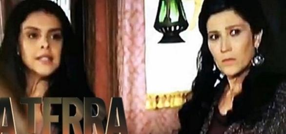 Samara e Léia levam o maior susto