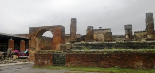 Templo de Júpiter, Pompeya, Italia