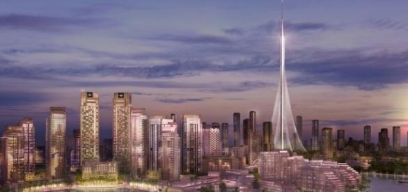 The Tower at Dubai Creek Harbour/ Rendering via Emaar