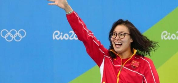 Chinese swimmer Fu Yuanhui wins public's heart for rare candor ... - nbcolympics.com