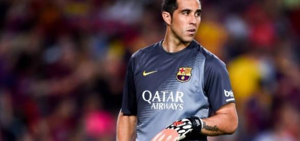 Claudio Bravo dejará el Barça rumbo a Manchester