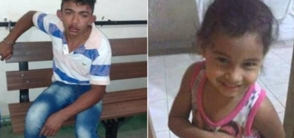 Homem confessa que matou menina por acreditar que mãe dela é macumbeira.