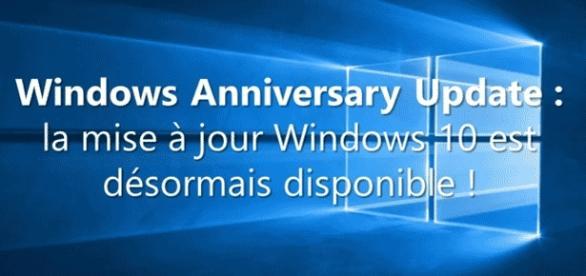 Surtout, laissez le temps à la mise à jour de Windows Anniversary pour s'installer