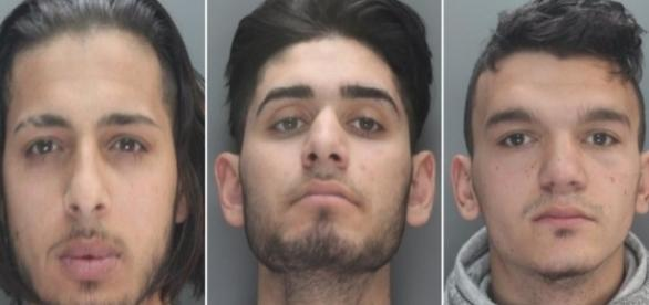 Ei sunt cei trei infractori români din Marea Britanie