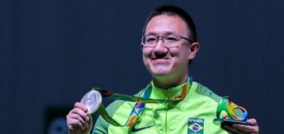 Felipe Wu, do Tiro, foi o primeiro militar medalhista nas Olimpíadas Rio 2016