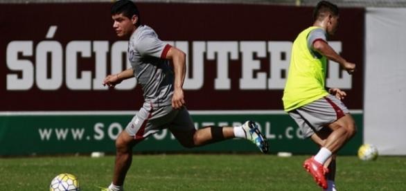 Fluminense segue sua reparação para encarar o Santa Cruz no domingo (Foto: Nelson Perez/Divulgação FFC)