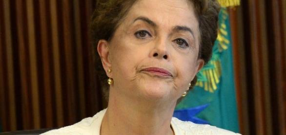 Presidente Dilma, afastada do poder