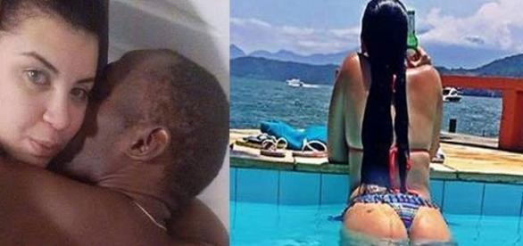 Fotos íntimas de Usain Bolt com Jady Duarte vazaram no WhatsApp
