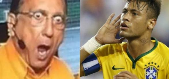 Galvão Bueno perde a voz após narrar muitos gols